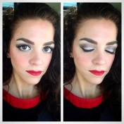 Red Lip Look