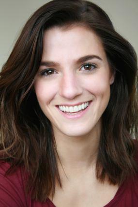 Natural makeup for actress Melina Chadbourne's headshots