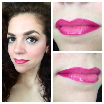Ombré Lips using #BiteBeauty High Pigment Pencil in Bouquet (light) and Luminous Créme #Lipstick in Palomino.