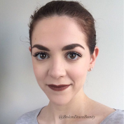 Lovely matte lips courtesy of Louboutin matte lipstick in 'Zoulou' #715