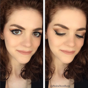 Smashbox Full Exposure palette & Anastasia Beverly Hills Liquid Lipstick in Pure Hollywood